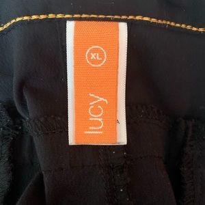 Lucy yoga Capri pants- black